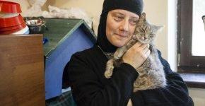 Кошка и монахиня