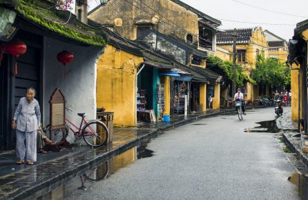 Улица вьетнамского города