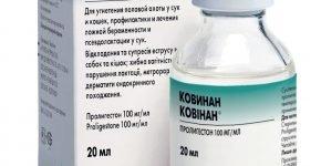 Ковинан раствор для инъекций в упаковке