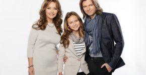 Дмитрий Маликов с семьёй