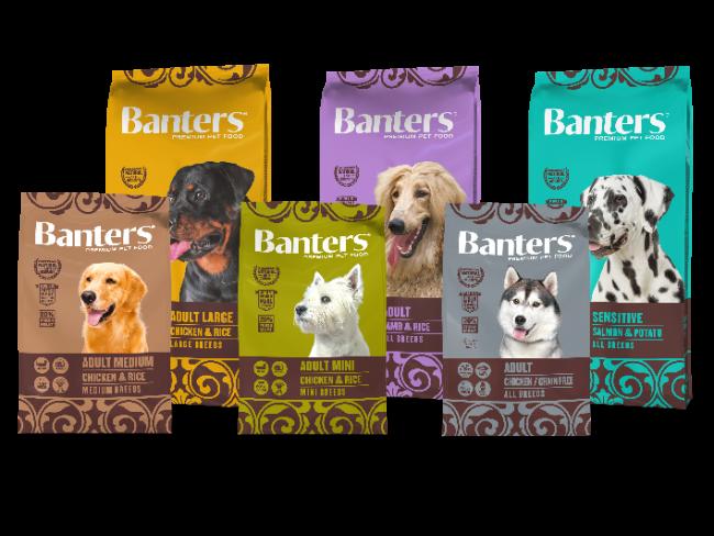 Сухие корма Banters для собак
