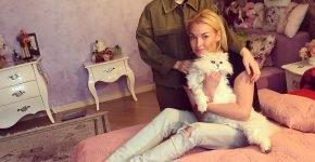 Семья Анастасии Волочковой