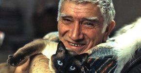 Джигарханян и его кот