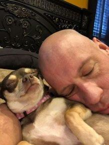 Бобби Хамфрис и собака Кира