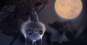 Летучая мышь арт