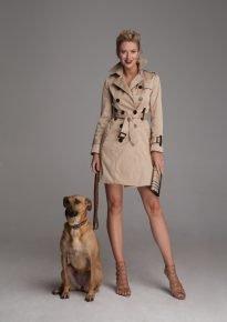 Ирина Ольховская с собакой Джинджер