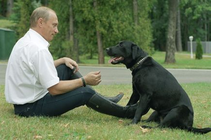 Путин с Конни