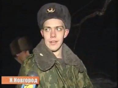 Солдат, который снял кота с дерева