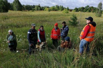 Спасатели с собакой