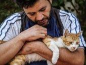 Сириец остался в разрушенном городе, чтобы спасать кошек