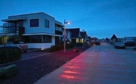 Красные фонари в Ньивкопе