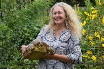 Хозяйка с черепахой